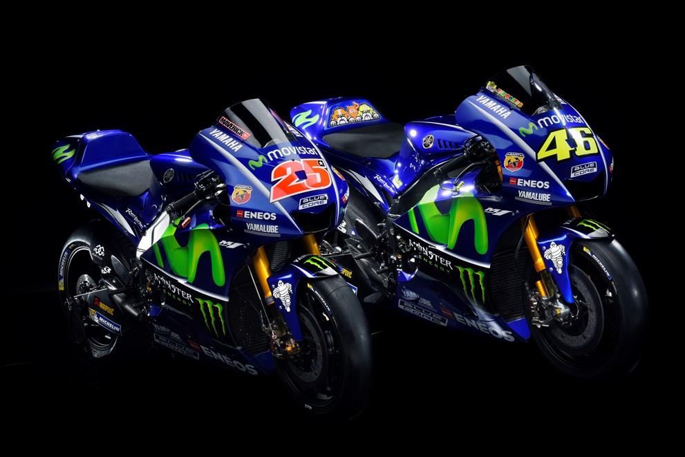 Racing caf yamaha yzr m1 team movistar yamaha motogp 2017 for Yamaha racing team