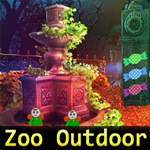 Games4King Zoo Outdoor Escape Walkthrough