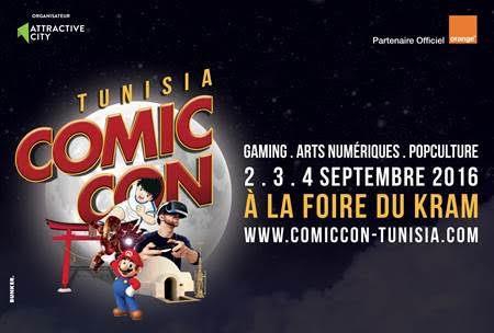 Orange, partenaire de Comic Con Tunisia