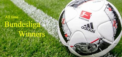 german,football. league ,bundesliga ,final, champions,winners, teams list.