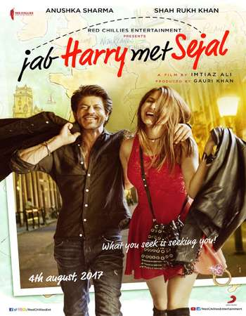 Jab Harry met Sejal 2017 Hindi 400MB V2 Pre-DVDRip 480p