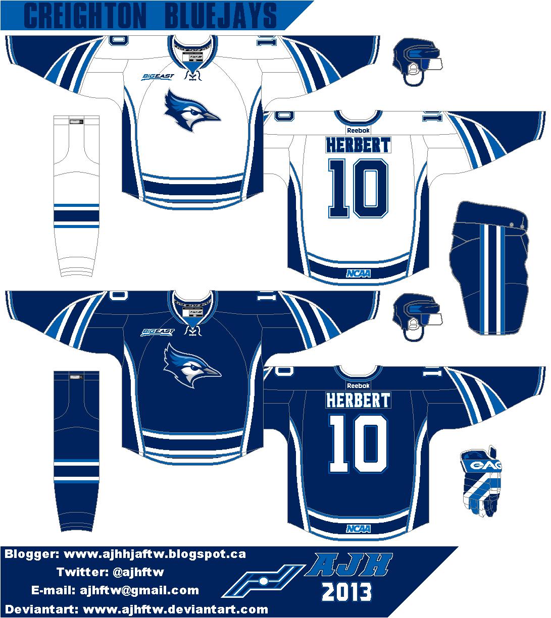 AJH Hockey Jersey Art: The Big 200th post!