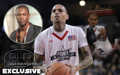 R&B Singer Tank Performs The National Anthem Honoring 9/11, And Chris Brown Stayed Seated and Laughed !!