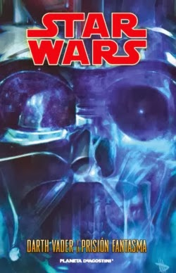 "Portada del cómic ""Star Wars: Darth Vader y la Prisión Fantasma"""