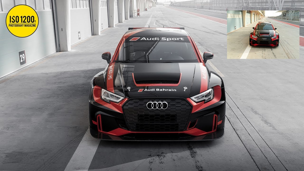 Transform your car photos with these simple tricks in Photoshop & Lightroom (Audi RS3 LMS)