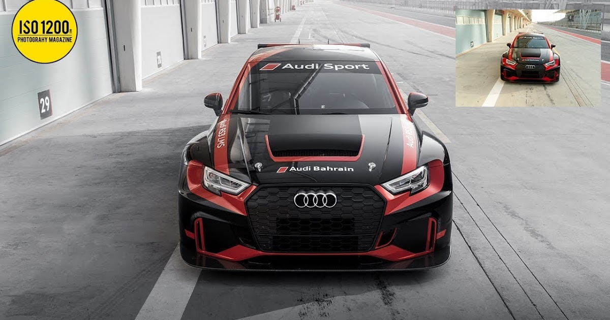 Transform your car photos with these simple tricks in Photoshop Lightroom (Audi RS3 LMS)