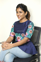 Eesha Looks super cute stunning in Denim Jeans and Top at Darsakudu movie Inerview ~  Exclusive 026.JPG
