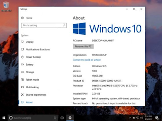 Cara Download dan Install Windows 10 S di Komputer/ Laptop