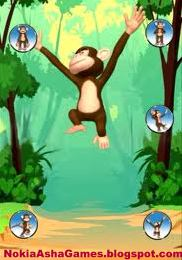 Talking monkey touchscreen java apps download for Nokia Asha