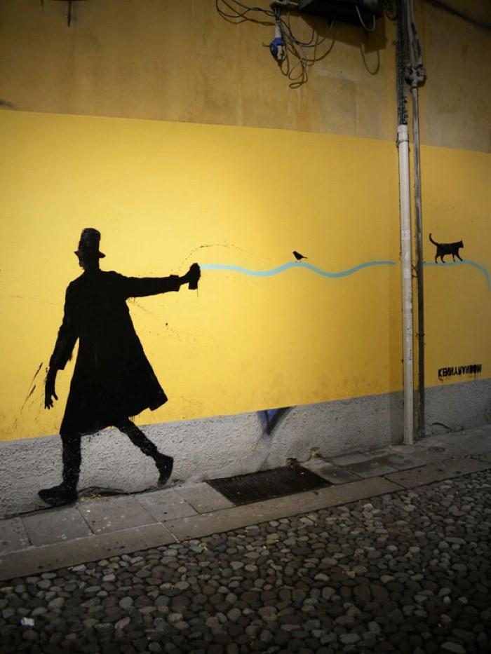 Kenny Random. Итальянский уличный художник 2