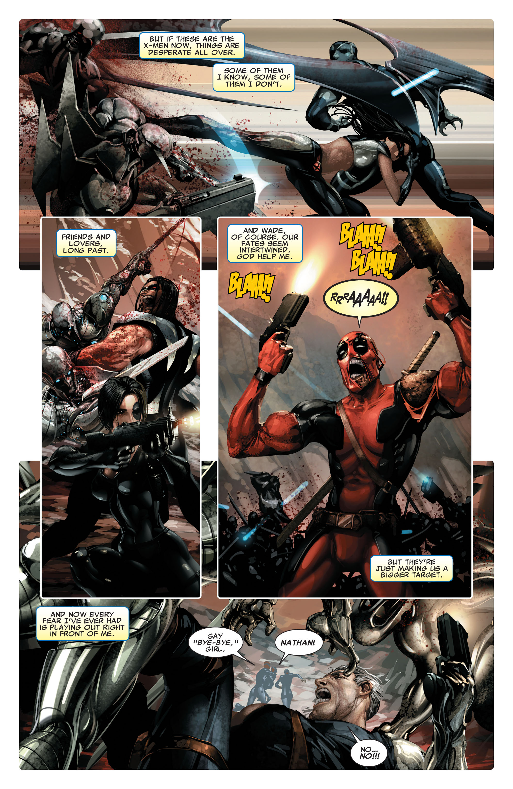 Read online X-Force (2008) comic -  Issue #14 - 7