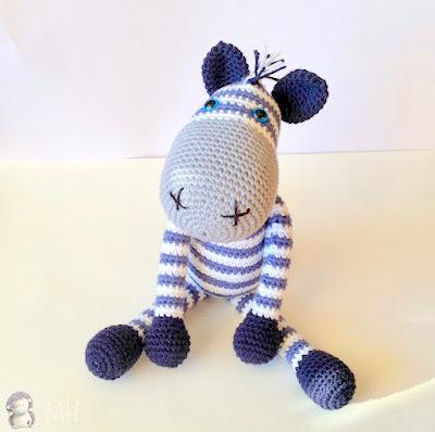 Amigurumi Cute Donkey Free Crochet Pattern - Amigurumi Free Patterns | 398x400