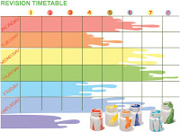 Examination Special: Revise Using a Timetable