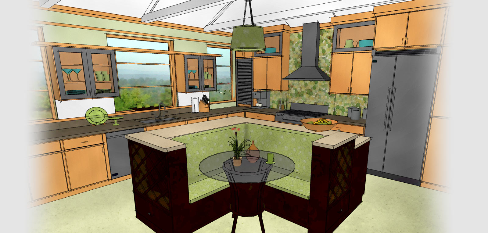 Features Of Kitchen Furniture And Interior Design Software