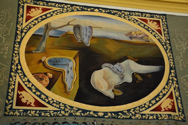 Teatre Museum Dali Art Figueres clock