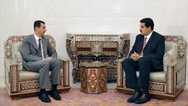 """""""Lo que dice Pompeo sobre Maduro recuerda rumores sobre Al-Asad"""""""