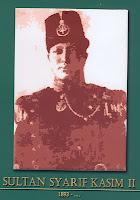 gambar-foto pahlawan nasional indonesia, Sultan Syarif Kasim II
