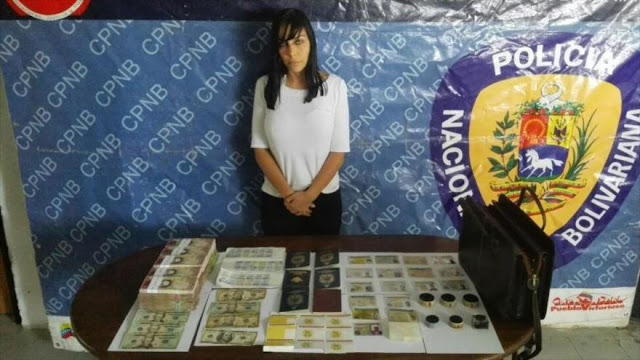 Arrestan a abogada de Tintori con material para falsificación