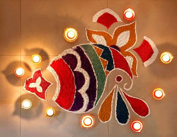 30 best diwali rangoli design patterns 2018 with pictures