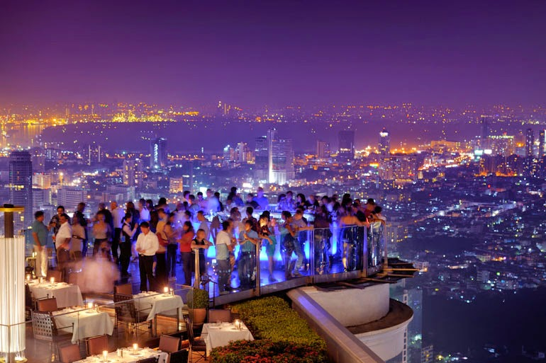 Sky Bar Rooftop Bar at Lebua Hotel