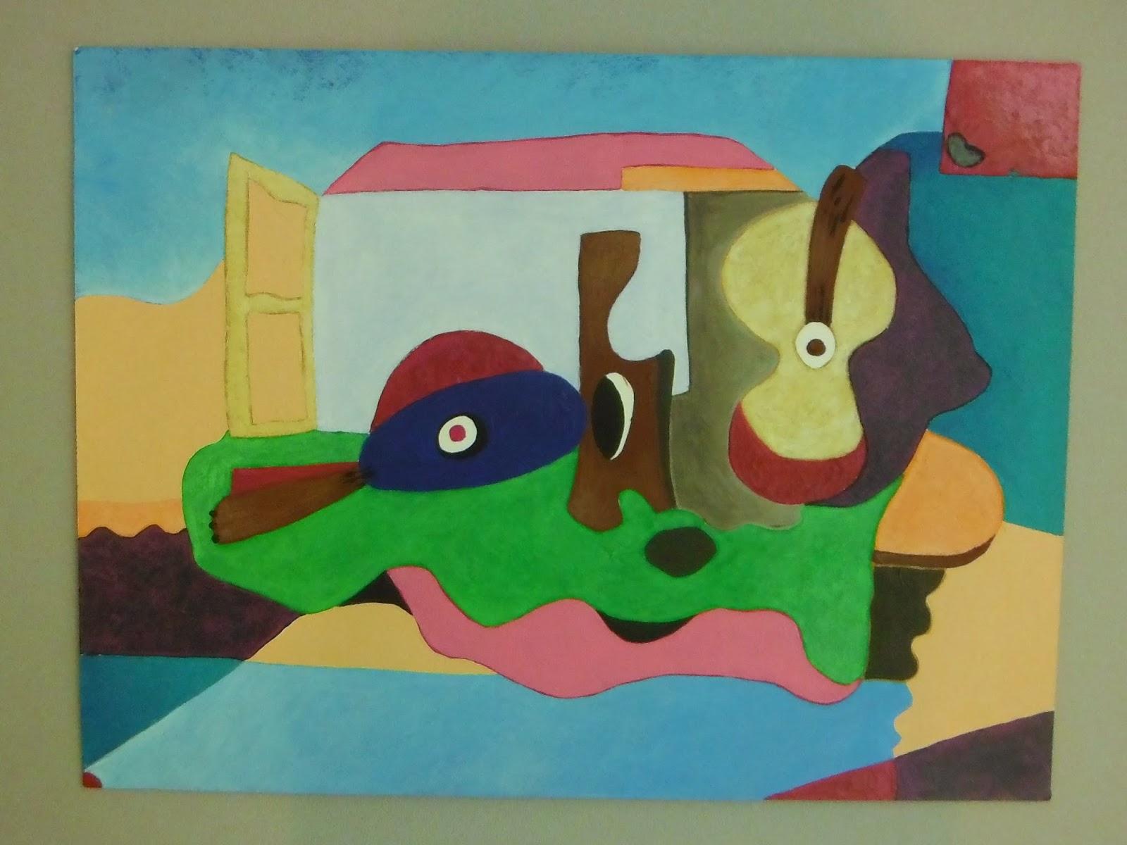 peinture abstraite thème création fenêtre ouverte par artiste peintre severine peugniez diplomée beaux arts