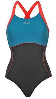 Slazenger X Back Ladies Swim Suit