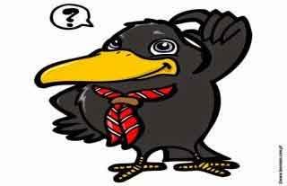 fabula La corneja con los cuervos