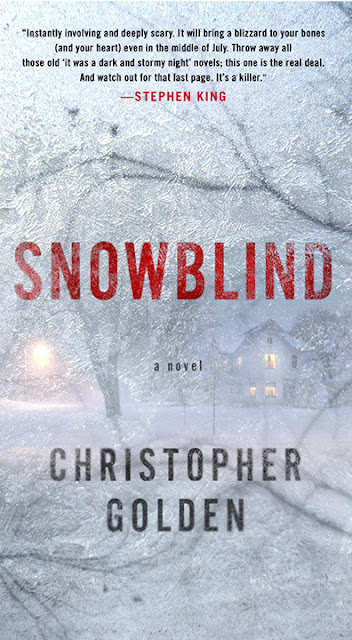 """Snowblind"" - Book Cover"
