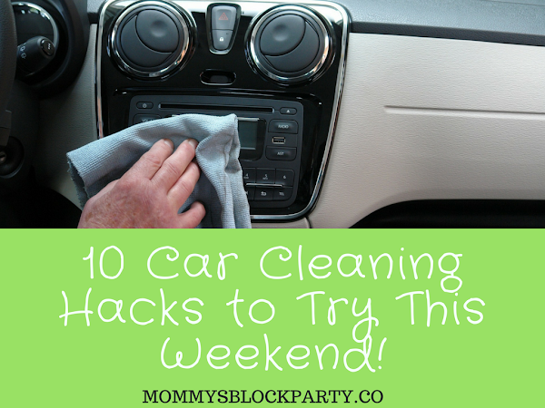 10 Car Cleaning Hacks to Try this Weekend