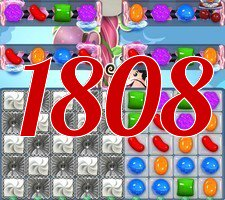Candy Crush Saga Level 1808