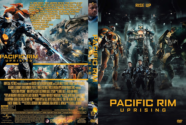 Pacific Rim Uprising DVD Cover