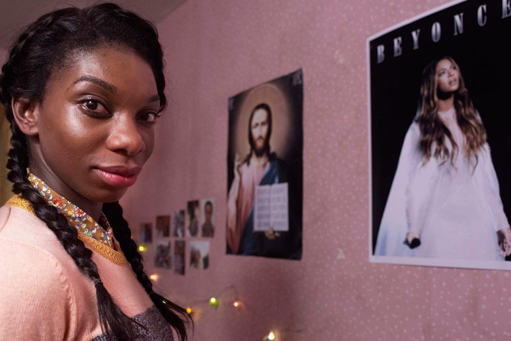 Michaela Coel como Tracey en 'Chewing gum'