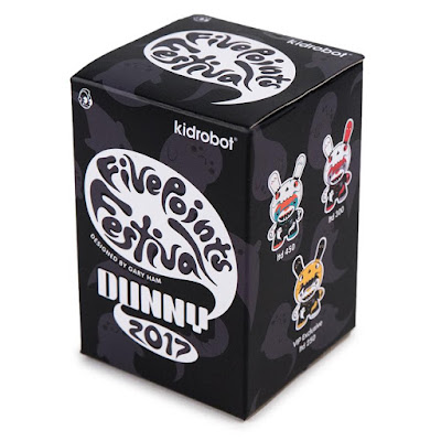 "Five Points Festival Exclusive Soul Collector 3"" Dunny Vinyl Figure by Gary Ham x Clutter x Kidrobot"