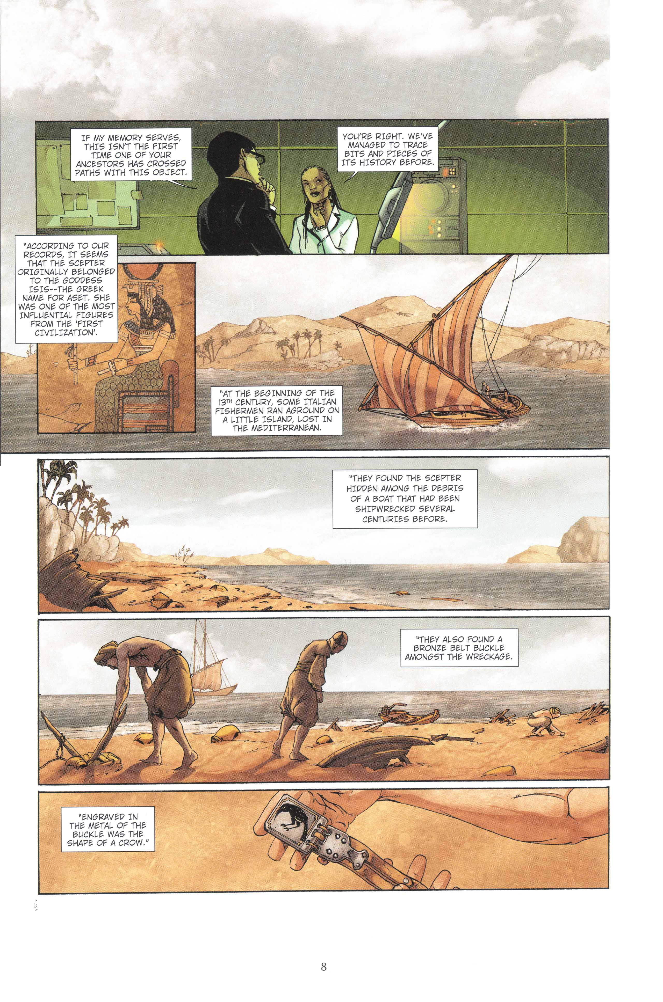Read online Assassin's Creed (2012) comic -  Issue #4 - 8