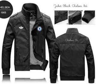 model jaket kulit untuk club bola chelsea fc