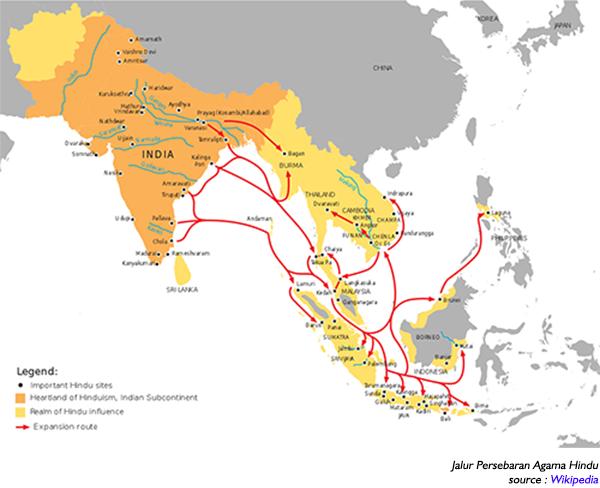 Proses Masuk dan Hindunisasi di Indonesia, Teori Ksatria Hindunisasi di Indonesia, Teori Waisya Hindunisasi di Indonesia, Teori Brahmana Hindunisasi di Indonesia, Teori Arus Balik Hindunisasi di Indonesia.