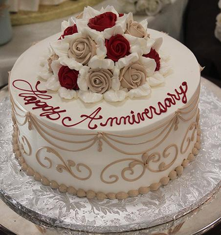 Happy Anniversary Cake Images for Whatsapp