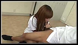 사까시-자빨은 첫 경험인 소녀