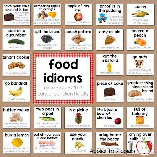 Food Idiom Bulleton Board