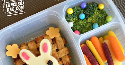 Lunchbox Dad: How to Make an Easter Bunny Basket Lunch