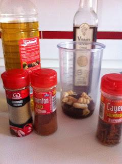 Ingrédients Mojo Picon Recette Sauce