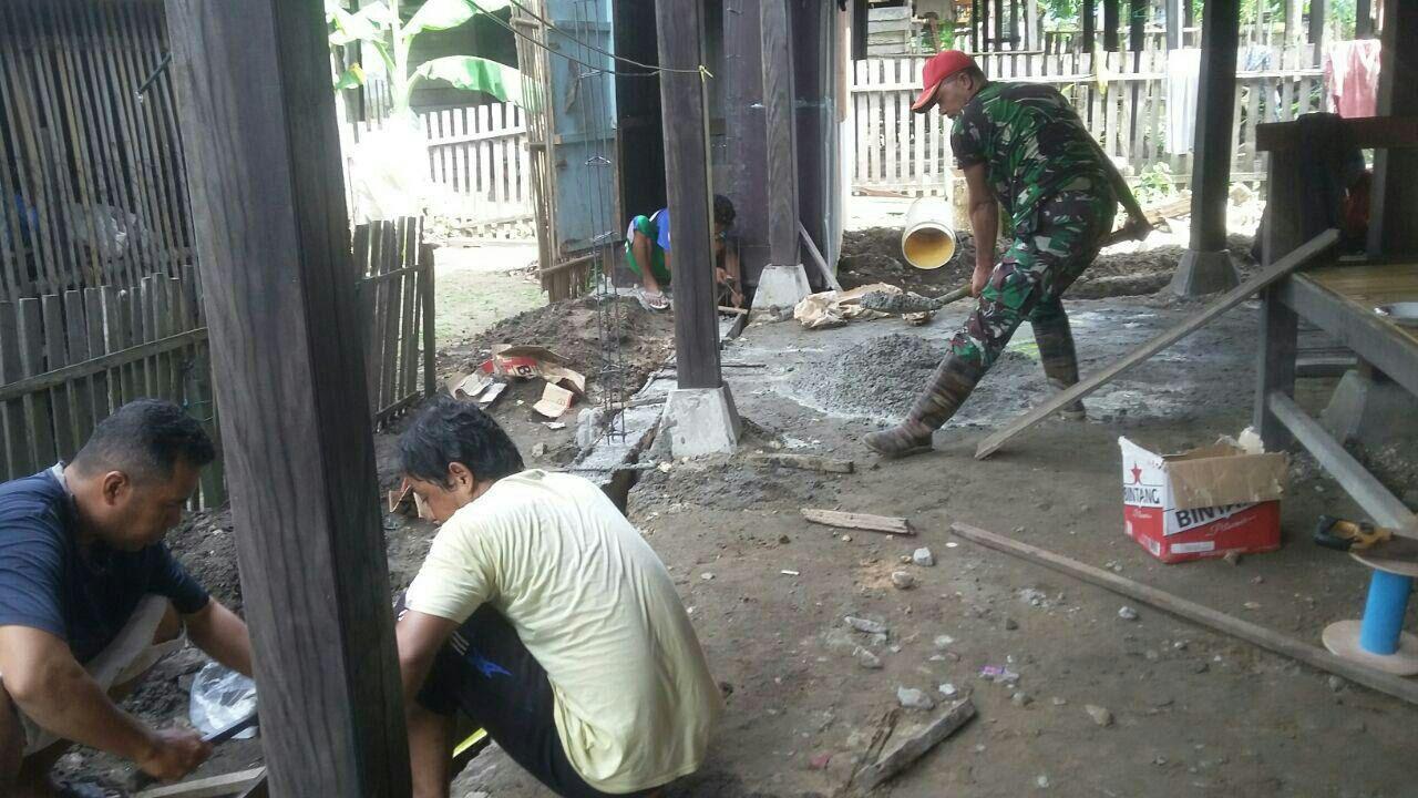 Babinsa Jadi Pelopor Sinergitas dan Kemanunggalan TNI dan Rakyat