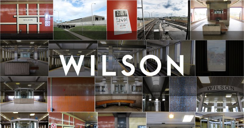 Wilson subway station photo gallery