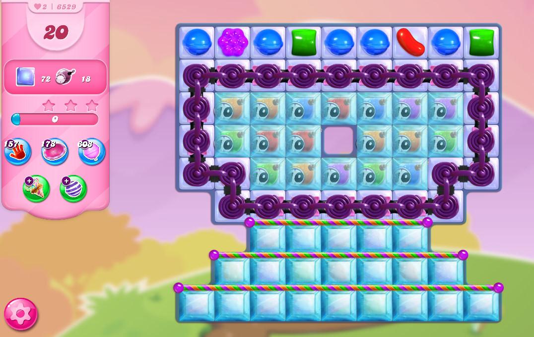 Candy Crush Saga level 6529
