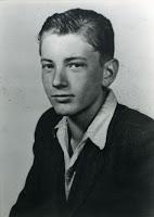 Thomas Bernhard at twelve