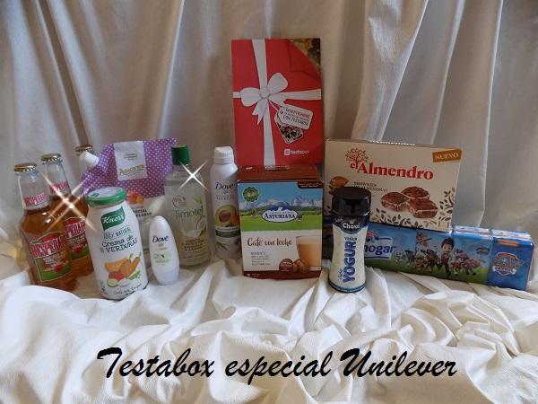 Testabox especial Unilever