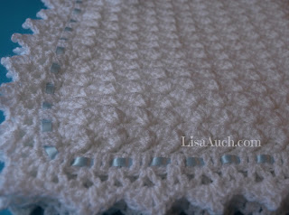 FREE Crochet Pattern Baby Blanket EASY - Little Clouds