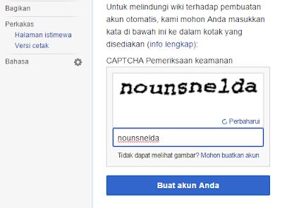 membuat akun wikipedia