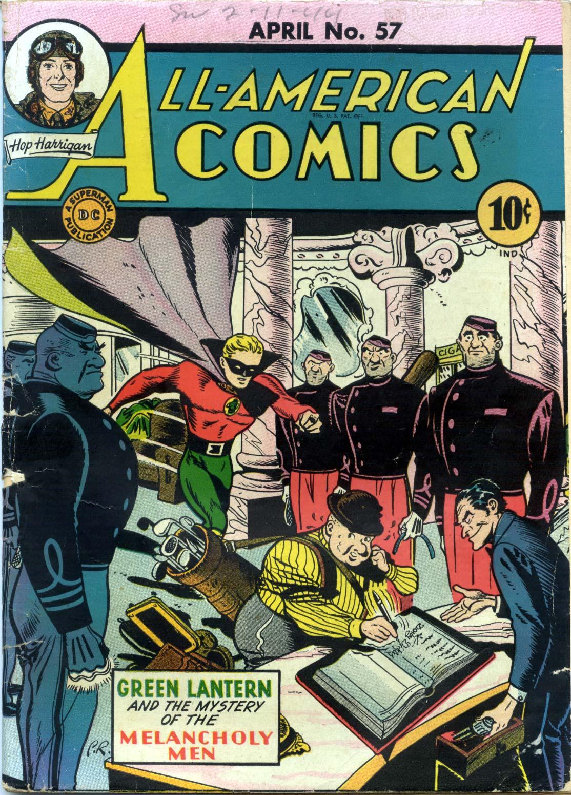 Read online All-American Comics (1939) comic -  Issue #57 - 1