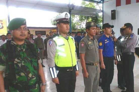 Polres Kepulauan Selayar, Gelar Pasukan Ops.Lilin 2017